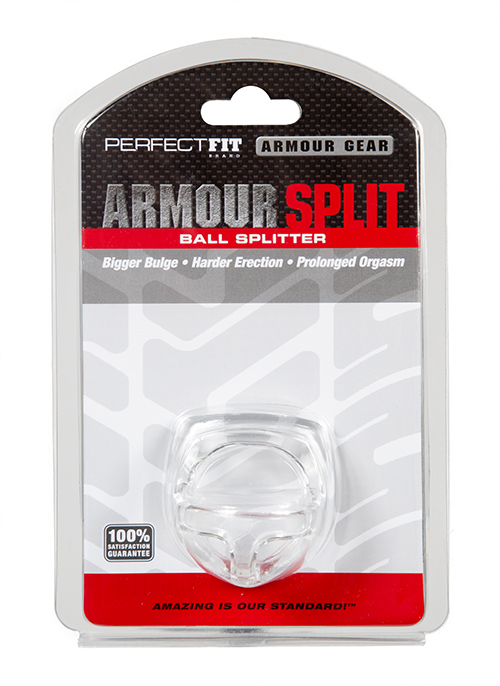 Perfect Fit Armour Ball Splitter Ring - Clear