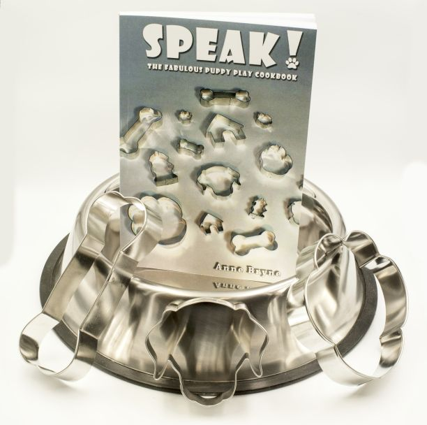 SPEAK! Puppy Cookbook Kit - Deluxe